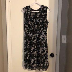 Banana Republic black & white dress - Size 12